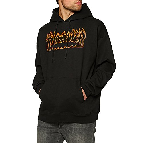 Thrasher Richter black Sudadera capucha Tamaño XL