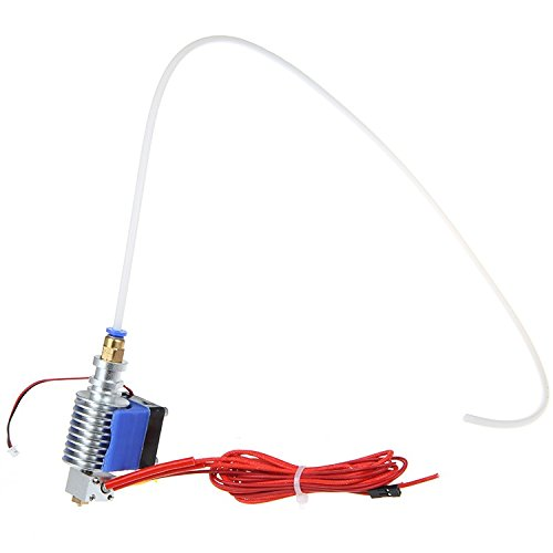Metal J-head with cooling fan,Cartridge heater& PTFE tube