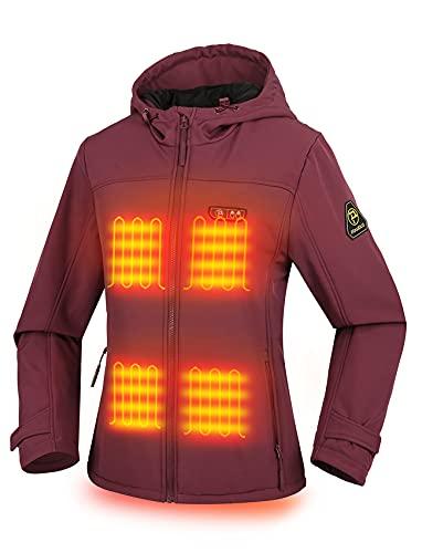 PTAHDUS Women's Heated Jacket