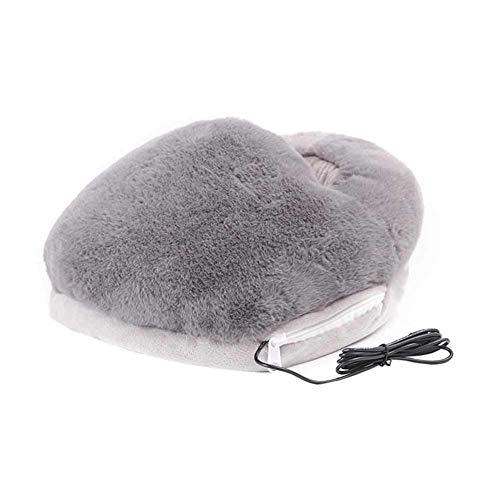 Tongdejing Calentador de pies, Calentador de energía USB, Calentador eléctrico con calefacción, cojín, Calentador de pies,Desmontable, Calentador de pies, Caza en frío, Elimina la Humedad