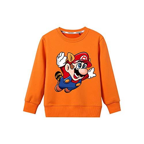 HEAIMONLA Super Mario Pullover Cuello...