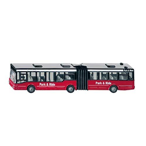 SIKU 1617, Gelenkbus, Metall/Kunststoff, Multicolor mit Aufdruck Aqua Park, Vielseitig einsetzbar, Spielzeugfahrzeug für Kinder