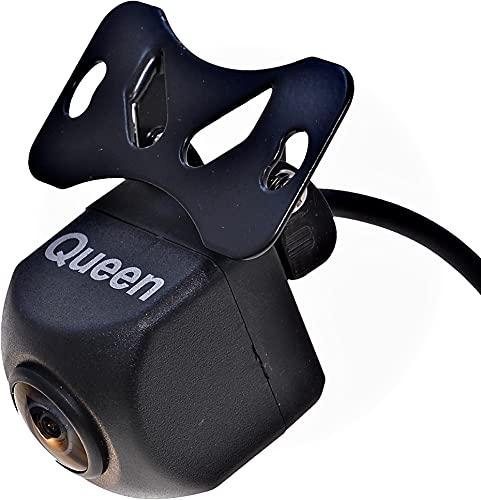 Queen クイーン100万画素HDバックカメラ DC12V〜DC24V 対応 正像・鏡像 ガイドラインON/OFF切り替え可能 防水・防塵 SHARP製CCD搭載
