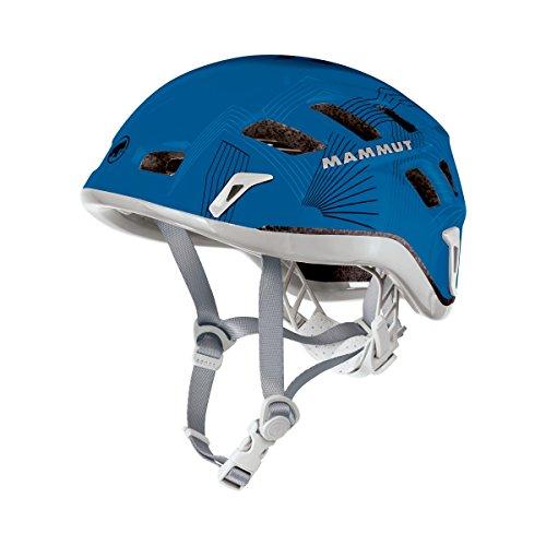 Mammut Rock Rider Polystyrol (EPS) blau Schutzhelm, Unisex - Erwachsene, Rock Rider, Dark Cyan-Smoke, 56-61cm