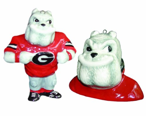 georgia bulldog figurine - 2