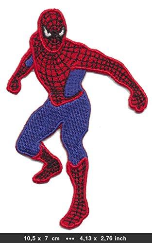 RG20 Spiderman Patches Aufnäher Bügelbild Marvel Comics Kinder Filme Movie