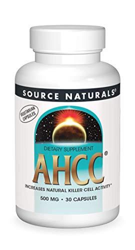Source Naturals AHCC 500mg, 30 Vegetarian Capsules