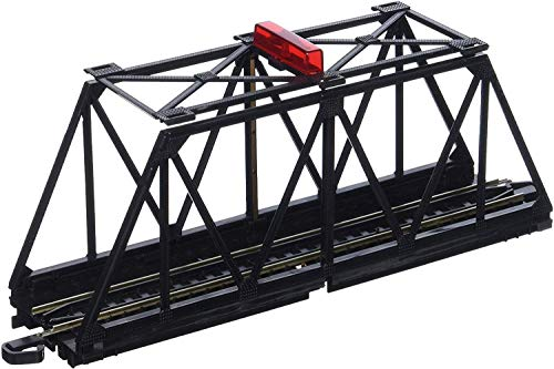 Bachmann Trains E-Z TRACK TRUSS BRIDGE with BLINKING LIGHT- HO Scale