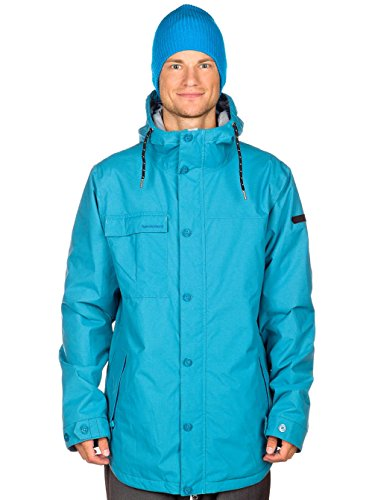 Special Blend Caliber - Chaqueta de Snowboard para Hombre Verde Abyss Talla:Small