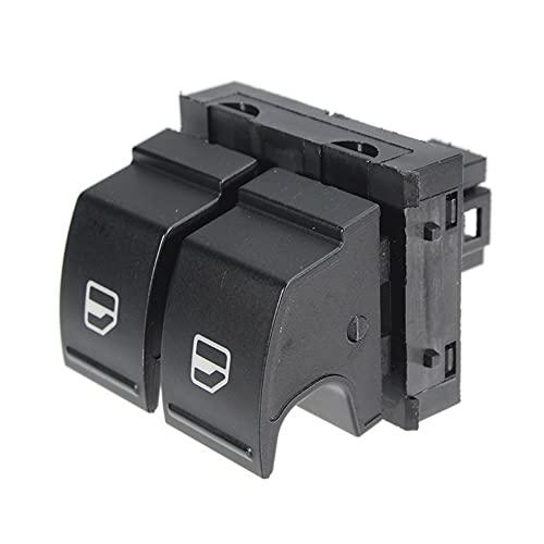 Botones elevalunas Interruptor de Control de Ventana electrónica de Maestro de Coche 1Z0 959 858 1Z0959858 Compatible con Skoda Compatible con Yeti Fabia MK2 Octavia 2 ROOMSTER 2006-2015 Reemplaza