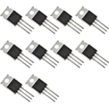 Bridgold 10pcs IRL7833PBF IRL7833 N-Channel Power MOSFET Transistor,30 V 150A,3-Pin TO-220AB