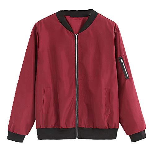 N\P Abrigo fino para mujer, manga larga, abrigo fino, abrigo de manga larga