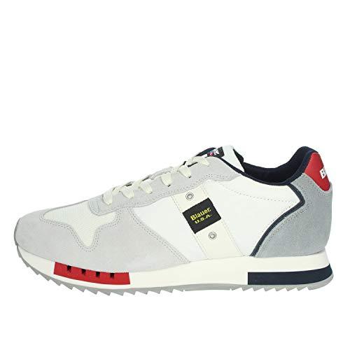 Sneaker Bianca QUEENS01 BLAUER