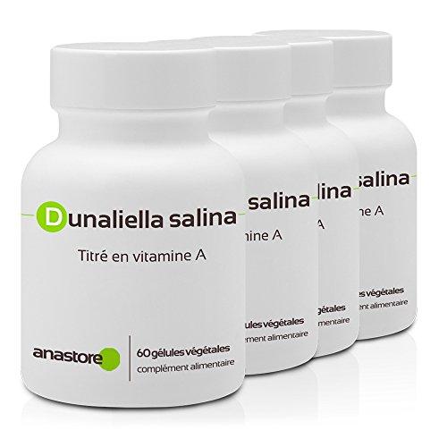 VITAMINA A (RETINOL) | OFERTA 3+1 GRATIS | 16 mg / 240 cápsulas | Cabello y uñas, Piel (antiedad, belleza de la piel), Visión | Fabricado en Francia