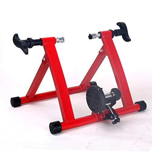 WYJW Soporte para Entrenador de Bicicleta Soporte para Entrenador de Bicicleta para Interior Bicicleta de Ejercicio para Interiores Rodillos de Bicicleta Soporte de Entrenamiento para b