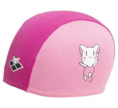 Arena Friends Kids Polyester cap, Swim Caps Unisex Bambino, Pink, TU