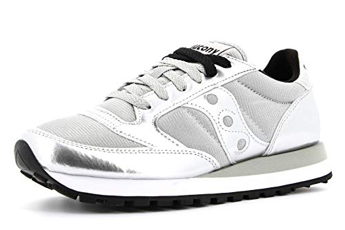SAUCONY scarpe sneaker donna JAZZ ORIGINAL VINTAGE S1044-461 argento 38.5