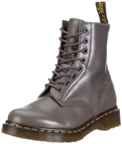 Dr. Martens SERENA 8 Eye Boot GREY 13239020, Damen Stiefel, Grau (grey), EU 36