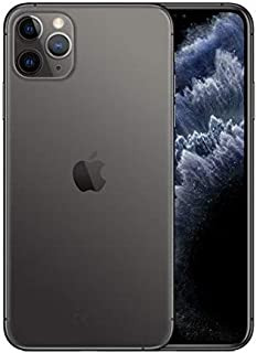 Apple iPhone 11 Pro Max Dual SIM with FaceTime - 256GB, 4GB RAM, 4G LTE, Space Gray