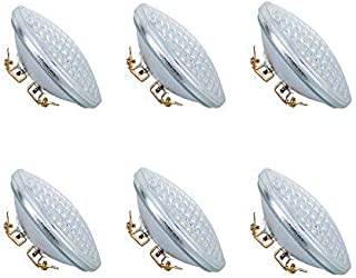 XY-Firestar PAR36 LED Landscape Bulb 9W 3000K Warm White, AC/DC12V, 900Lumens 60W Halogen Equivalent, Water Resistant, PAR36 LED Bulb for Landscape Lighting, Off-Road Vehicles (Pack of 6)