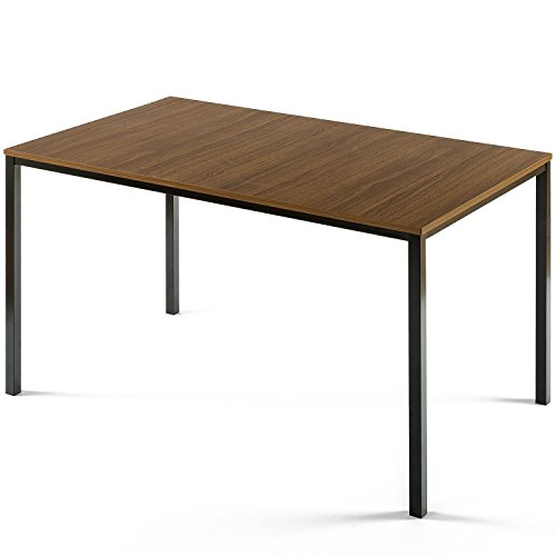 Zinus Modern Studio Collection Soho Dining Table/Office Desk/Computer Desk/Table Only, Brown