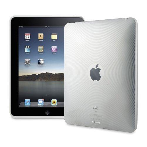 Muvit Mini Gel Waves Hülle für Apple iPad 1G transparent