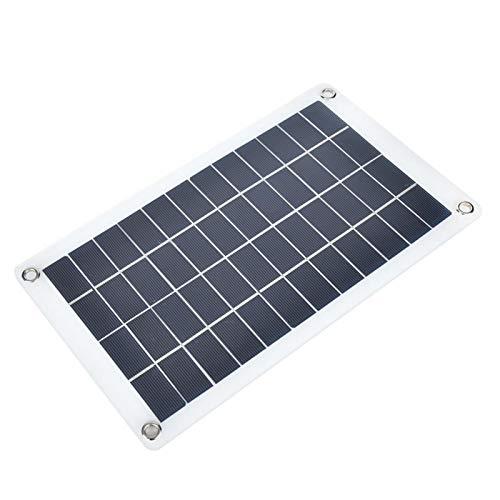 Qqmora Cargador de Panel Solar al Aire Libre portátil Impermeable Ligero Plegable 7.5W 12V para teléfonos celulares, iPhone, iPad, Android