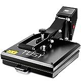 Pro 15x15 Heat Press TUSY Heat Press Machine Digital Sublimation Industrial Quality for T-Shirt/All Flat Items