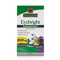 Nature s Answer Eyebright 800 mg 野菜カプセル90錠