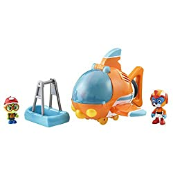 Join swift on high-flying rescue missions to earn your wings with swift's flash wing rescue deluxe vehicle inspired by nickelodeon's top wing Kids can re-enact missions from top wing with swift and his deluxe flash wing that features side-to-side det...