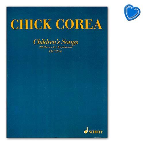 Children 's Songs–chick Corea–20Unidades para Piano, Teclado o electrónico botón Instrumento–Ordenador libro...