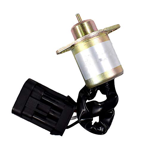 labwork-parts New Fuel Shut Off Solenoid 6670602 Fit for Bobcat 463-553-S70-S100