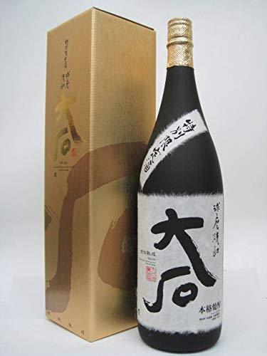 大石酒造 大石 樽貯蔵 米焼酎 25度 1800ml