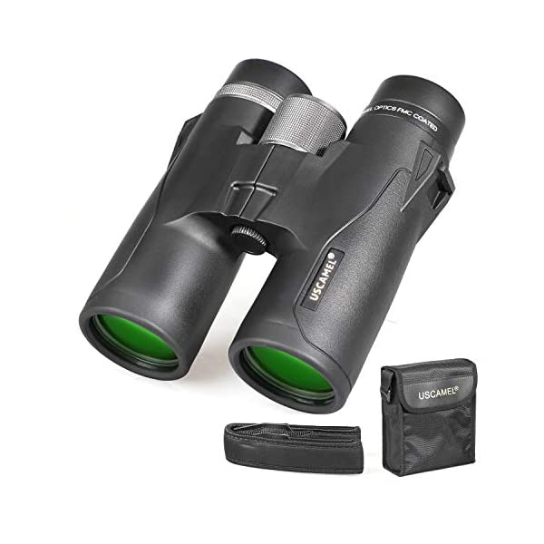 Compact Binoculars for Adults, 10x42 Professional Binoculars with HD Roof Prism - Best for Bird Watching, Safari Sightseeing, Travel, Camping, Concert