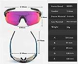 Zoom IMG-1 kapvoe uv400 sport ciclismo occhiali
