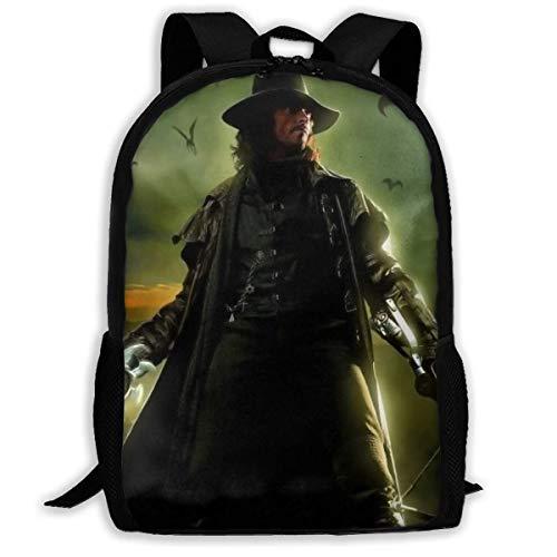 huatongxin Van Helsing, mochila de viaje para adultos, se adapta a mochilas para portátiles de 15,6 pulgadas, mochila escolar, mochila informal para hombres y mujeres