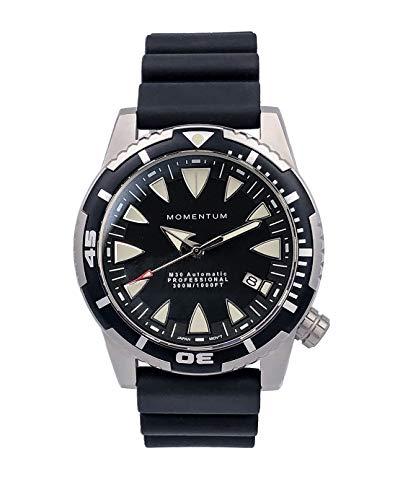 Momentum 1M-DV30B1B M30 Orologio automatico analogico da uomo, nero