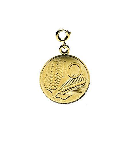 Passavinti Anhänger Damen Charms Armbänder Schmuck Silber Bronze Gold Silber Mode Geschenk 10 Lire - Gold