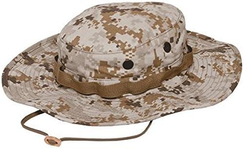 Tru-Spec Military Boonie, TRU DESERT DIGITAL W  WIDE BRIM & LOOP, 7-1 4 by Tru-Spec