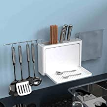 Refreshing Wall Mounted Storage Rack Shelf Holder Durable Drain Rack Wall Shelf Multifunctional Kitchen Supplies Organize ...