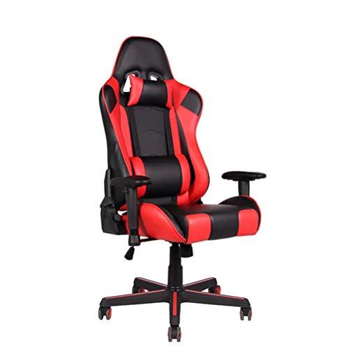 Ergonomische Bureaustoel, Computerfauteuil, Racestoel in E-Sportstijl