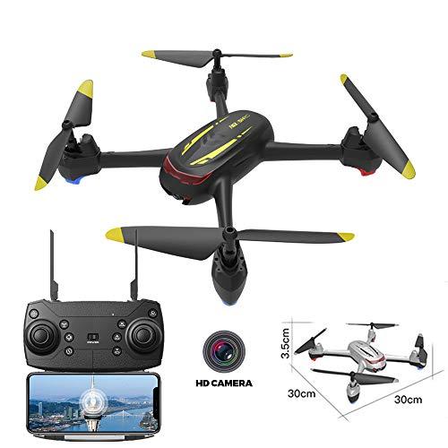 BQT drone camera, 1080P groothoeklens HD-camera FPV quadcopter UAV-afstandsbediening vliegtuig live helikopter zwevende vliegtuig 360 graden flip, inknop-terugkering, GPS-smart volgingen, vliegtuigspeelgoed