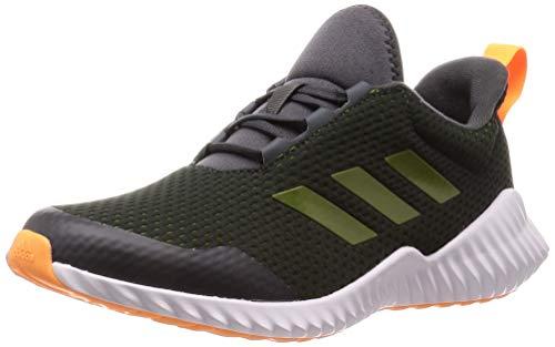 adidas Performance Fortarun Laufschuh Kinder grau/grün, 5.5 UK - 38 2/3 EU - 6 US