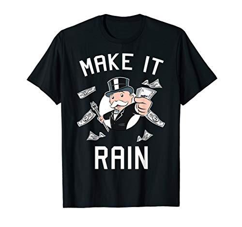 Monopoly Make It Rain Simple Portrait T-Shirt