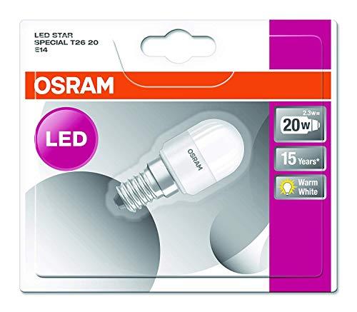 Osram LED Star Special T26 Lampe, mit E14-Sockel, nicht dimmbar, Ersetzt 20 Watt, Matt, Warmweiß - 2700 Kelvin, 1er-Pack