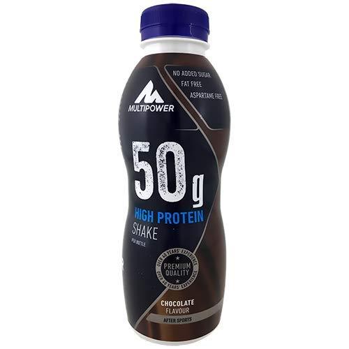 Multipower 50g Protein Shake, Sabor Chocolate - 12 Unidades