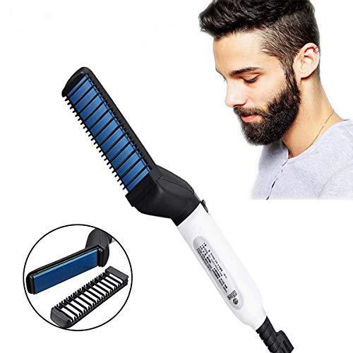 Vmoni Quick Hair Styler for Men Electric Beard Straightener Beard Care Comb...
