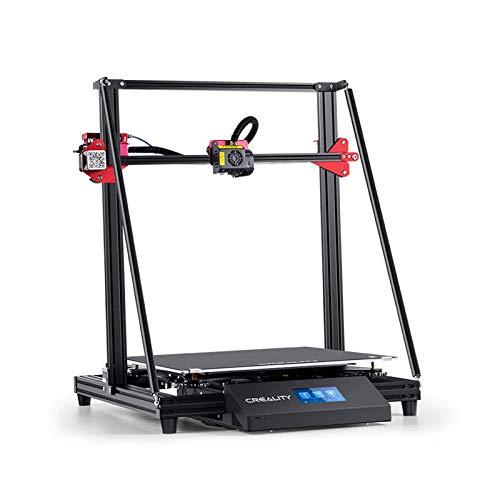 Stampante 3D Fai Da Te 3D Stampa Di Grandi Dimensioni / Estrusore A Doppia Unità / Funzione Di Ripristino Alimentazione / Eccentricità Del Filamento Con Piastra Di Superficie Di Costruzione Rimovibile