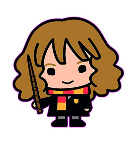 Simplicity Applique Harry Potter Chibi Hermione, Multi, taglia unica