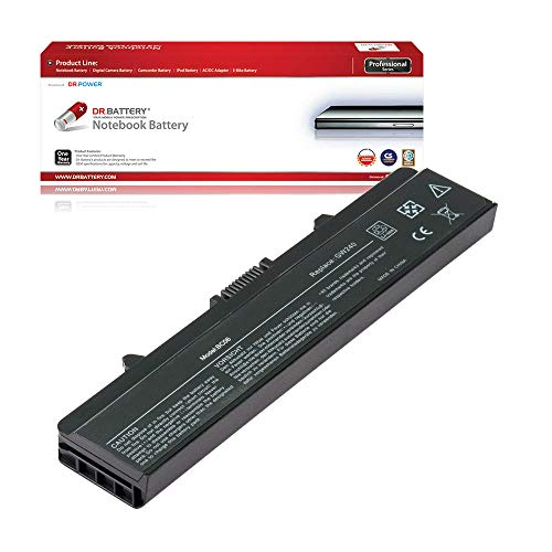 DR. BATTERY Laptop Battery for Dell Inspiron 1525 1526 1545 1546 PP29L M911G RN873 0XR682 GW240 GP952 X284G [11.1V/4400mAh/49Wh]